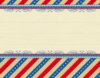 Houten de V.S.achtergrond vector illustratie