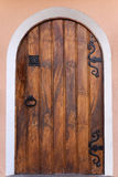 Houten deur Royalty-vrije Stock Foto