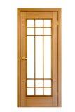 Houten deur #8 royalty-vrije stock afbeeldingen