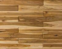 Houten die panelen als houten plafond worden gebruikt Stock Afbeeldingen