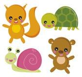 Houten dieren Royalty-vrije Stock Fotografie