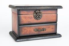 Houten doos Royalty-vrije Stock Fotografie