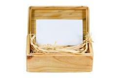 Houten doos-4 Royalty-vrije Stock Foto