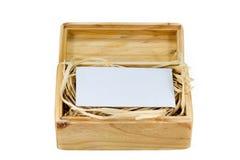Houten doos-5 Stock Afbeeldingen