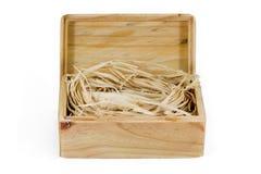 Houten doos-3 Stock Afbeelding