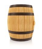 Houten eiken vat voor dranken het opslaan stock illustratie