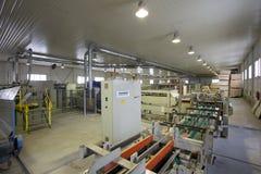 Houten Fabriek royalty-vrije stock foto