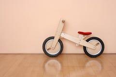 Houten fiets Stock Afbeelding