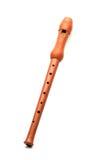 Houten fluit Stock Foto's