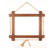 Houten frame Stock Foto