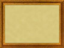 Houten frame. Stock Illustratie