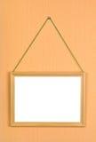 Houten frame Royalty-vrije Stock Foto's