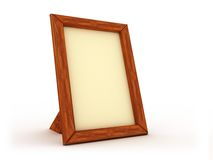 Houten frame royalty-vrije illustratie