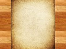 Houten frame met verfachtergrond Stock Afbeeldingen