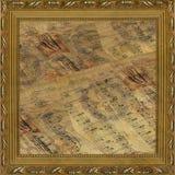 Houten frame in Victoriaanse stijl stock foto