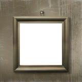 Houten frame voor beeld of foto Stock Foto's