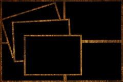 Houten frames Stock Afbeelding