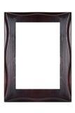 Houten geïsoleerd frame Stock Fotografie