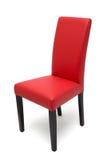 Houten geïsoleerde stoel Stock Afbeelding