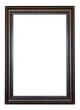 Houten geïsoleerdr frame Royalty-vrije Stock Foto