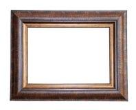Houten geïsoleerdr frame Stock Foto