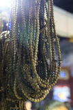 Houten gebedparels Royalty-vrije Stock Fotografie