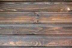 Houten gekleurde achtergrond met dark Stock Foto