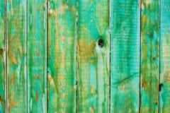 Houten geschilderde textuur. Horizontaal frame. Stock Foto