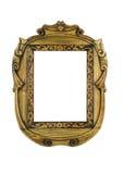 Houten gesneden Frame voor beeld royalty-vrije stock foto's