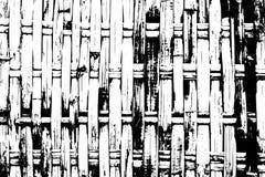 Houten gevlechte vectortextuur Schors geweven oppervlakte Plattelander opgeschort textuurspoor stock illustratie