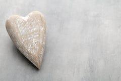 Houten gevormd hart Geplaatste vector: Modieuze 2014 paarden De Daggroet van Valentine ` s Royalty-vrije Stock Fotografie
