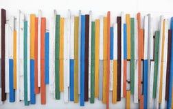 Houten geweven kleur Royalty-vrije Stock Foto's