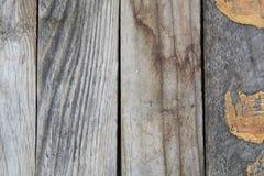 Houten geweven patroon van grungepanelen Royalty-vrije Stock Afbeelding