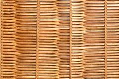 Houten Golvende die Sunblind-Achtergrond van Dunne Pijnboomplanken wordt gemaakt Royalty-vrije Stock Foto's