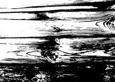 Houten grungetextuur Natuurlijke houten geïsoleerde achtergrond Vector illustratie Stock Foto
