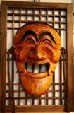 Houten Hahoe Masker, Hahoetal Stock Afbeelding
