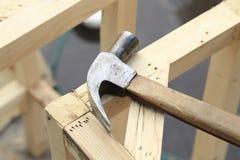 Houten hamer Royalty-vrije Stock Fotografie