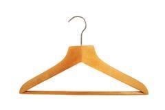 Houten hanger Royalty-vrije Stock Afbeeldingen