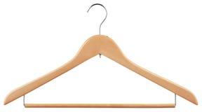 Houten hanger Stock Afbeelding