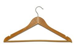 Houten hanger Royalty-vrije Stock Afbeelding