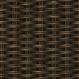 Houten het Weefselpatroon van de rooster Naadloos Mand Royalty-vrije Stock Fotografie