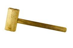 Houten houten hamer Royalty-vrije Stock Fotografie