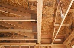 Houten of houtplafond Stock Fotografie