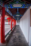 Houten Huis Lijiang, Yunnan-galerij Stock Foto