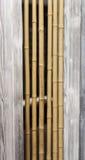 Houten huis van het bamboe het binnenlandse ontwerp Royalty-vrije Stock Afbeeldingen