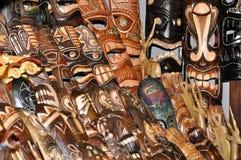 Houten Indisch Masker Stock Afbeelding
