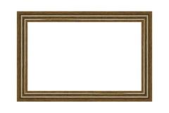 Houten kader Royalty-vrije Stock Foto's