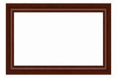 Houten kader Royalty-vrije Stock Fotografie