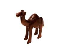 Houten kameel Royalty-vrije Stock Foto