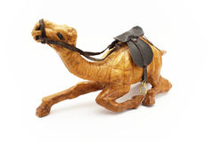 Houten kameel Stock Foto's